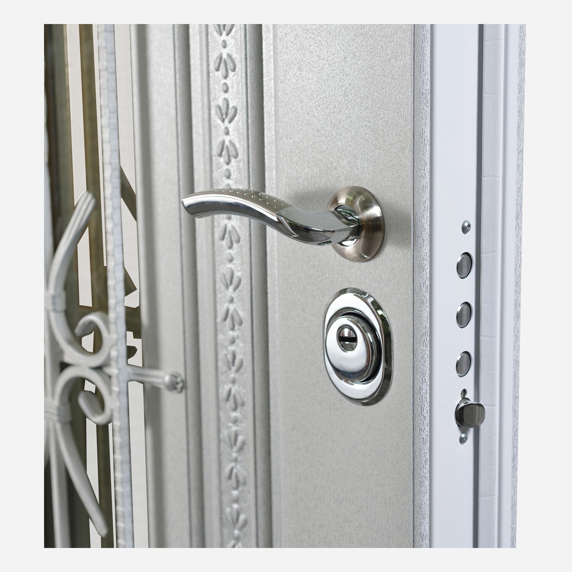 Lazio Steel Security Entry Door By Novo Porte Usa