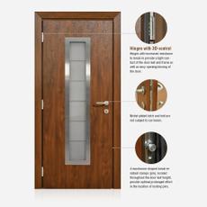 North Entry Door